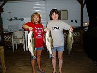 Wow! what a catch! at Ogg's Fish Camp in Zavalla, TX